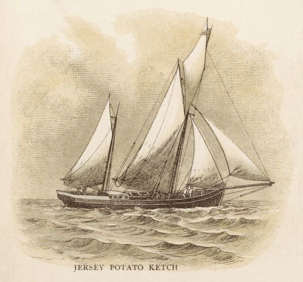 Potato ketch of the island of Jersey