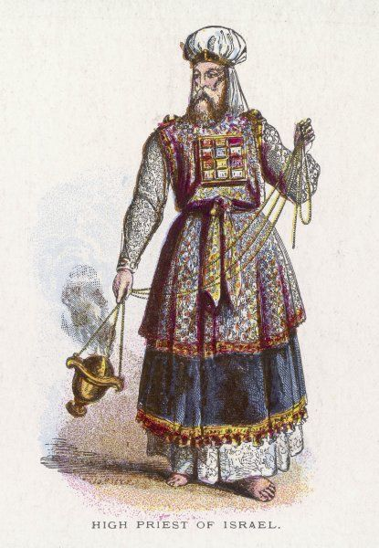 A Jewish High Priest in his ceremonial garb