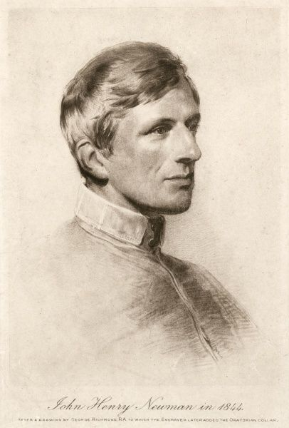 JOHN HENRY NEWMAN Catholic convert, at age 43