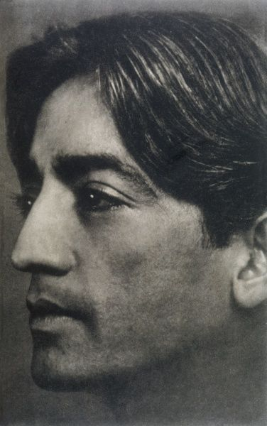 Indian spiritual teacher, Jiddu Krishnamurti (1895-1985)