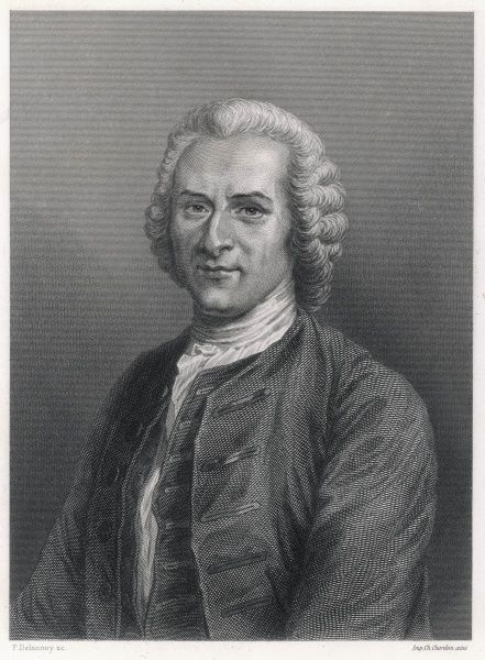 JEAN JACQUES ROUSSEAU French philosopher