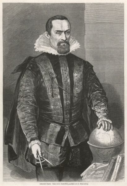 JOHANNES KEPLER German astronomer
