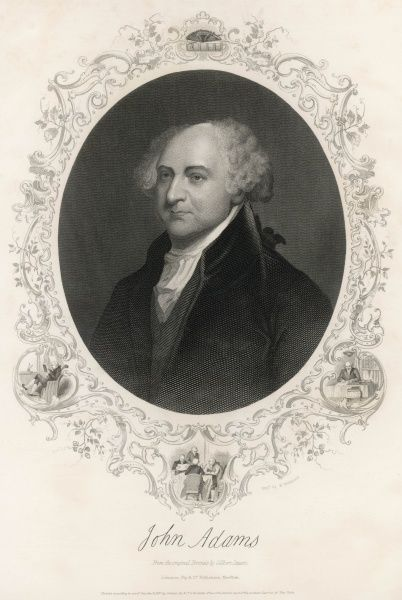 John Adams, 2nd President of the United States (1797-1801)