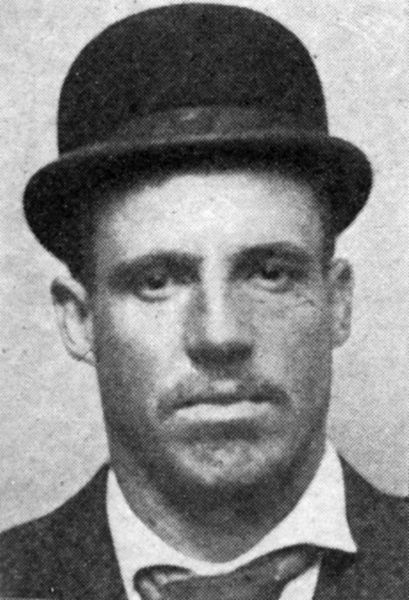 John Brady, American train robber, who worked with Sam Browning and was sentenced to life imprisonment on 27th November 1895. Date: 19th Century