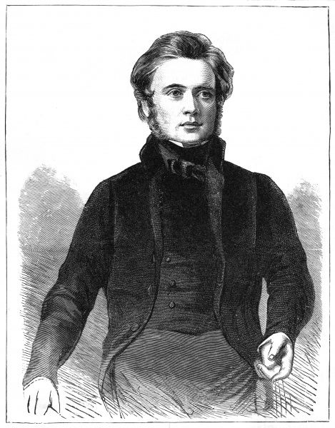 JOHN BRIGHT Statesman, at the age of 32. Date: 1811 - 1889