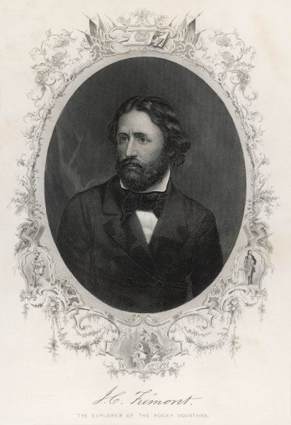John Charles Fremont, American soldier, explorer and presidential candidate