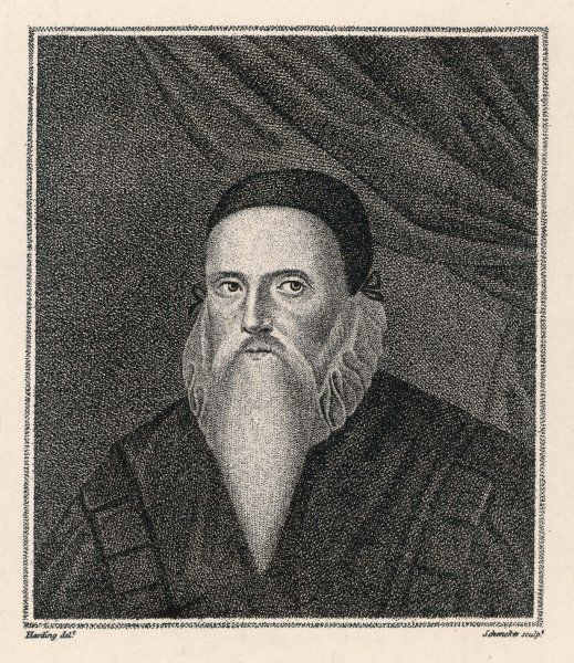 JOHN DEE, occultist, astrologer and magician