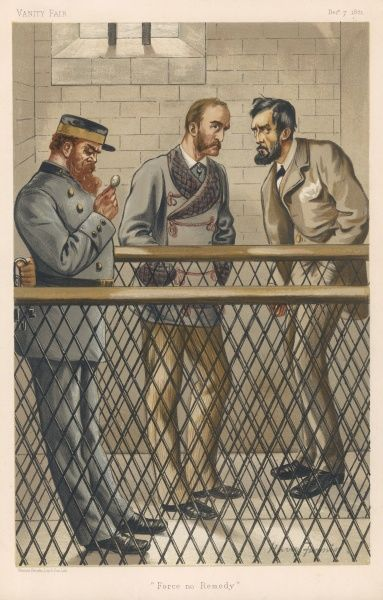 JOHN DILLON Irish Nationalist politician in jail with Parnell