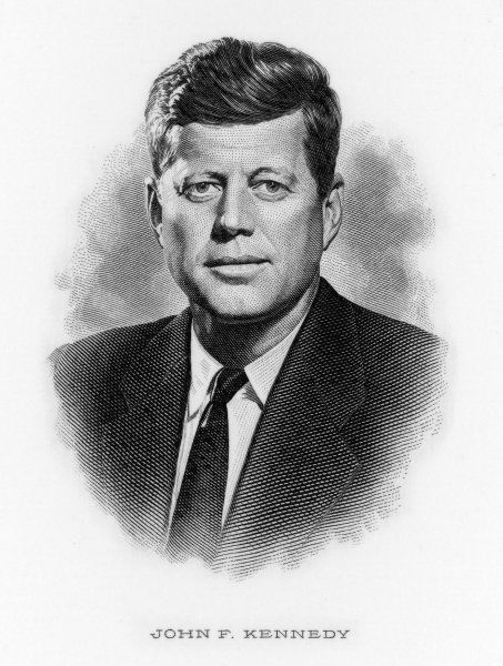 35th President of the United States, John Fitzgerald Kennedy (1917-1963)