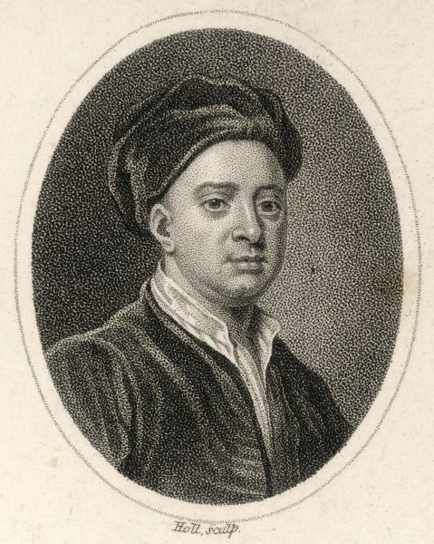 JOHN GAY English poet, playwright and theatre manager, famous for The Beggar's Opera