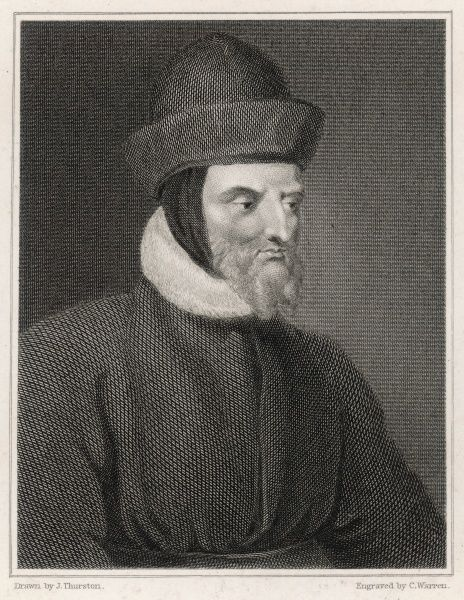 JOHN GOWER English poet, friend of Chaucer