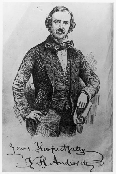 John Henry Anderson, Scottish- born stage magician, known as the Wizard of the North