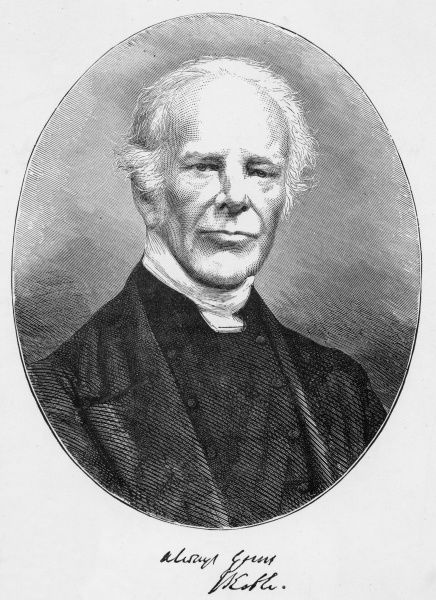 JOHN KEBLE churchman who initiated the 'Oxford Movement', hymn writer and poet