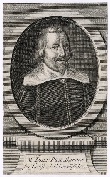 JOHN PYM English M.P. who played an active role in Parliamentary opposition to King Charles I