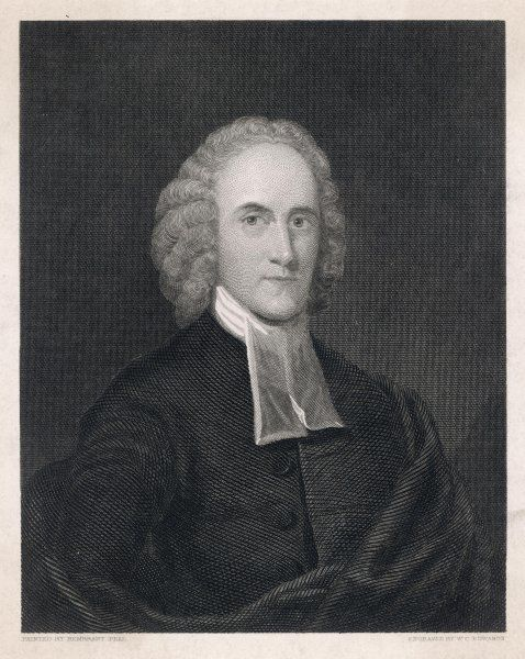 JONATHAN EDWARDS American Clergyman and Theologian