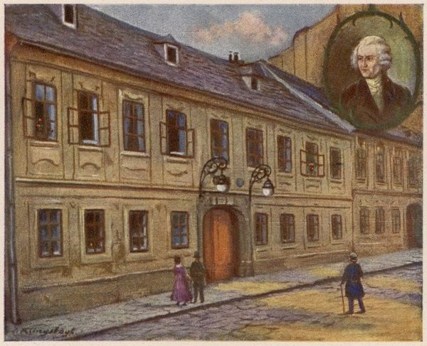 JOSEPH HAYDN his Vienna home, later turned into a Haydn Museum Date: 1732 - 1809