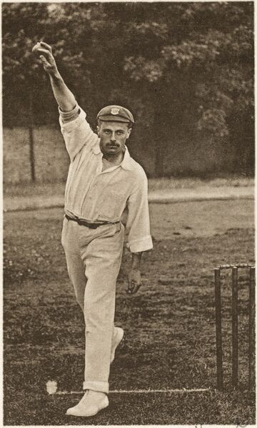 Joseph Vine (1875-1946). Wisden joint cricketer of the year in 1906. Played for England in 1911/12