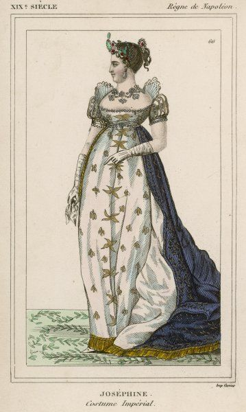 MARIE JOSEPHE ROSE TASCHER French Empress in Imperial costume