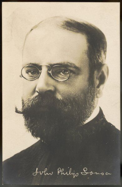 JOHN PHILIP SOUSA nicknamed The March King American bandmaster and composer of about 140 military marches, including 'Stars and Stripes Forever' (1897)