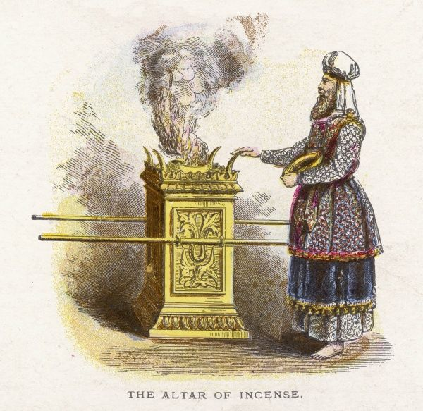 Ceremonial objects : THE ALTAR OF INCENSE