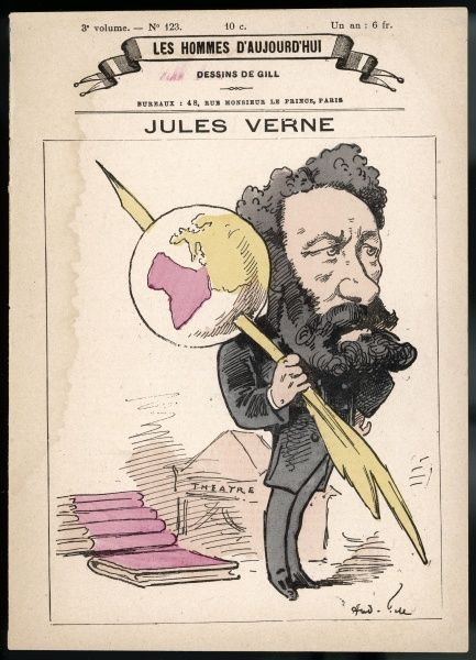 JULES VERNE French science fiction writer