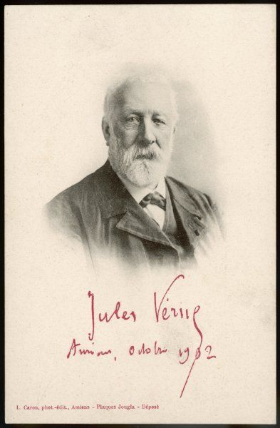 JULES VERNE French science fiction writer, in 1902