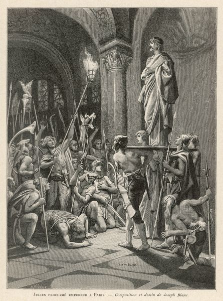 Julianus (the Apostate) is proclaimed emperor in Paris, while campaigning in Gaul