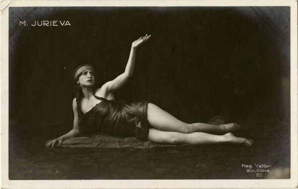 JURIEVA Actress Date: early 20th century