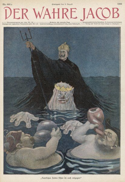 The Kaiser sets out to be Lord of the Sea