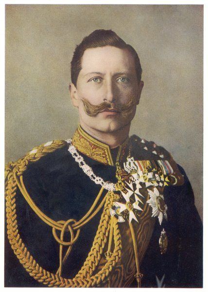 Kaiser Wilhelm II (1859 - 1941) - German Emperor in 1906