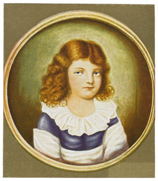 KARL THEODOR KORNER German writer and patriot (here, as a child)