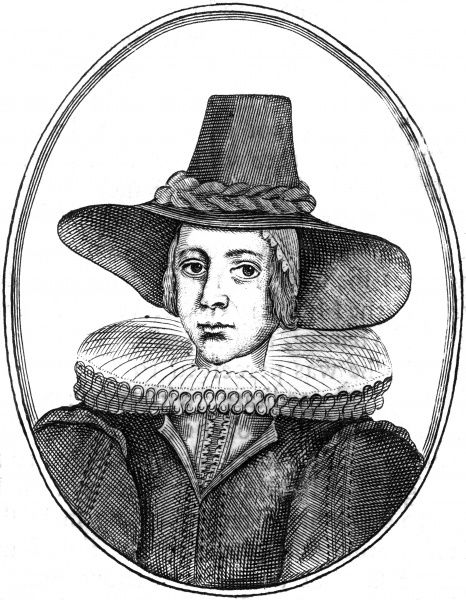 KATHERINE BRETTERG (nee Bruen) wife of William Bretterg of Bretterghold, puritan. Date: 1579 - 1601