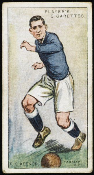 Fred Keenor, player for Cardiff City