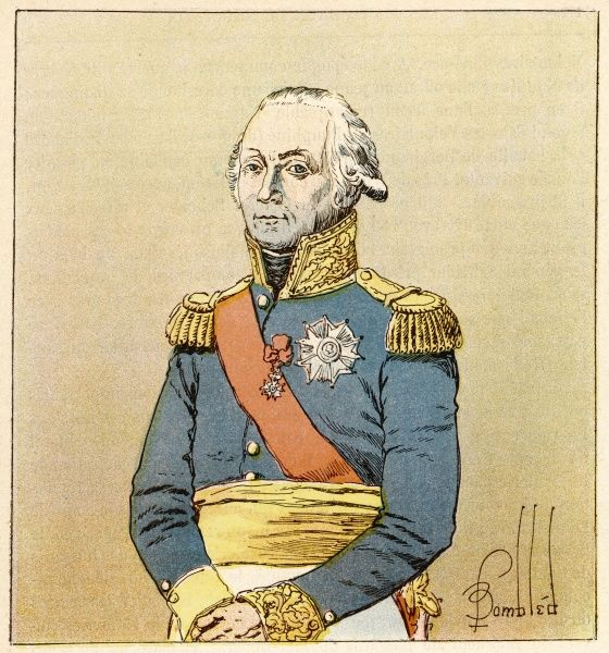 FRANCOIS-CHRISTOPHE KELLERMANN, Duc de Valmy French soldier