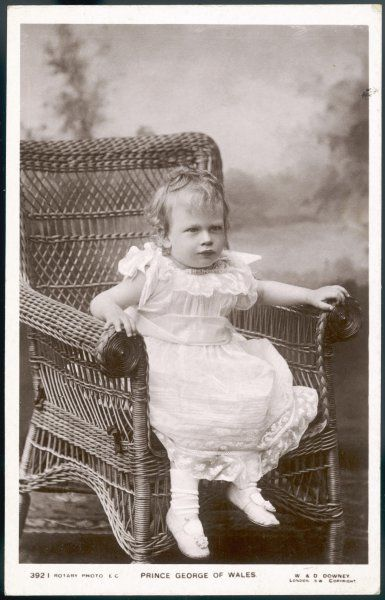 GEORGE, DUKE OF KENT Son of George V in 1906