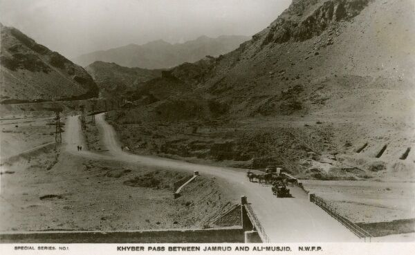 Khyber Pass - between Jamrud and Ali-Musjid - North West Frontier Province