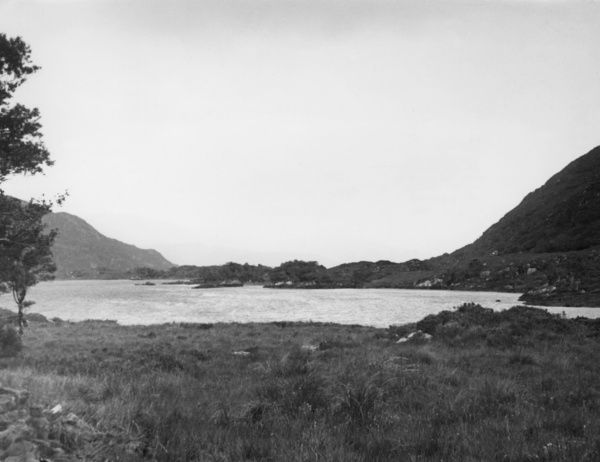 The Lakes of Killarney from the Kenmare road, County Kerry, Ireland. Date: 1930s