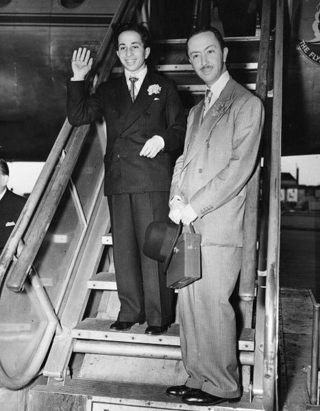 King Faisal II of Iraq (1935-1958) the last King of Iraq, at London Airport returning home after studying at Harrow