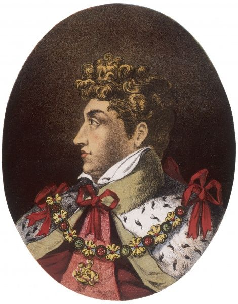 KING GEORGE IV OF ENGLAND Reigned from 1820 to 1830
