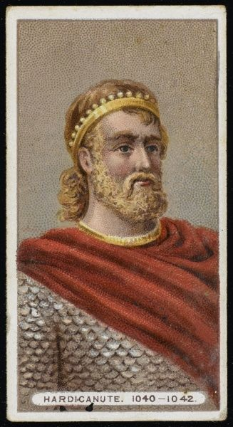 HARDICANUTE or HARDECANUTE or HARTHACNUT King of England (1040-42) and King of Denmark (1035-42)