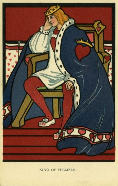 King of Hearts. Illustrator Anon. Date: 1904