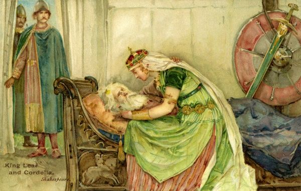 king lear why cordelia truly