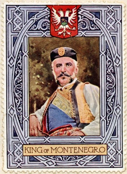 KING NICOLAS (NIKOLA) I of Montenegro (1841 - 1921)