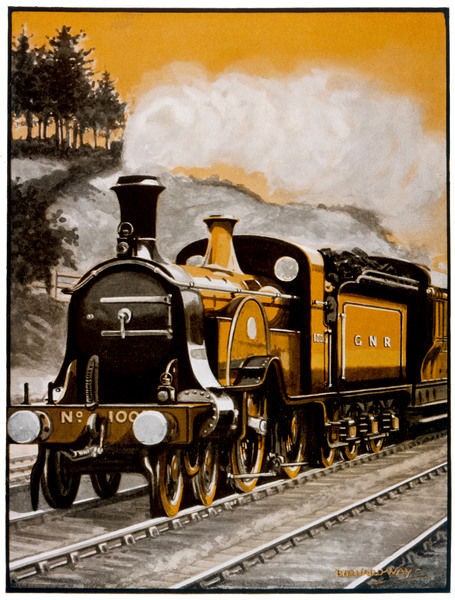 Stirling's 'King of the Singles', Great Northern Railway