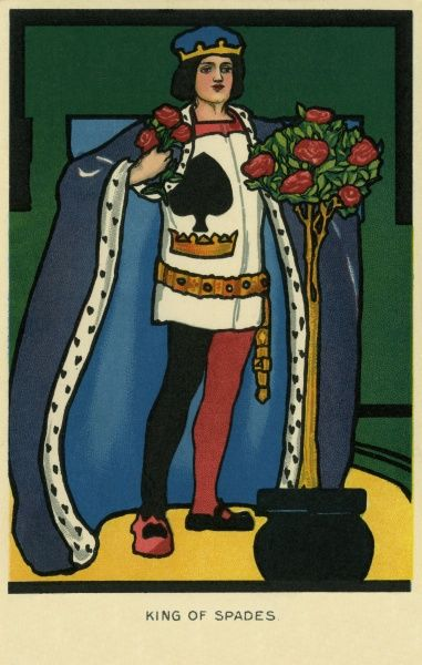King of Spades. Illustrator Anon. Date: 1904