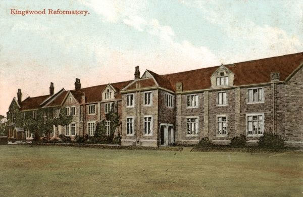 A view of Kingswood Reformatory near Bristol, opened in 1854 and one of the first such institutions