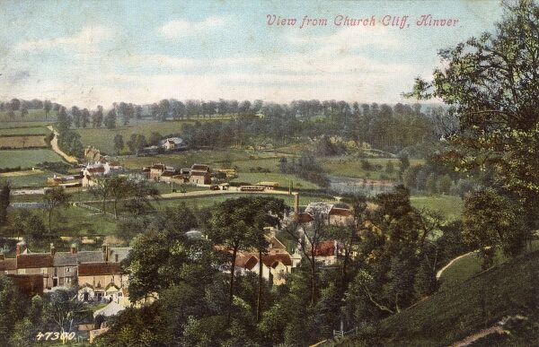 Kinver, Staffordshire - view from Church Cliff Date: circa 1910s