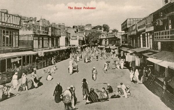 The Kissa Kahani Bazaar or the romantic 'Street of Story-tellers' extends from west to east in the heart of the city of Peshawar. Located on the edge of the Khyber Pass near the Afghan border, Peshawar is the commercial, economic, political