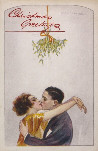 Putting the mistletoe to good use