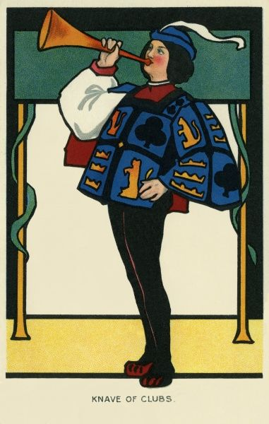 Knave of Clubs. Illustrator Anon. Date: 1904